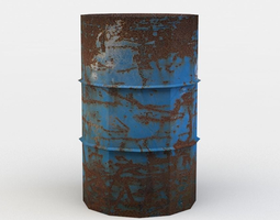 realtime 3d asset barrel