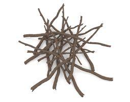 Twigs 1 3D model