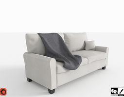 Contemporary Sofa 3D model