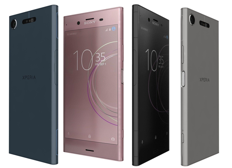 Sony Xperia XA1 Plus All Colors   3D model