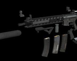 AR 15 game ready super pack 2018 3D model