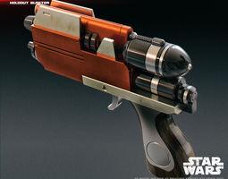 3D print model Blurrg-1120 holdout blaster