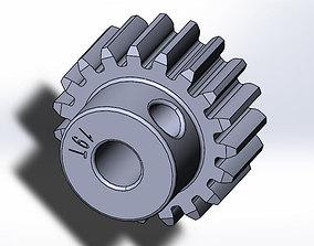 Tamiya TT-01 E Pinion Gear 19T 3d Print Model