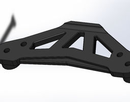 Tamiya TT-01 E Upper Bumper Plate 3D print model