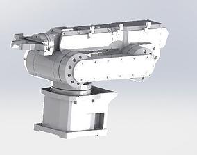Large mechanical manipulator 3D model