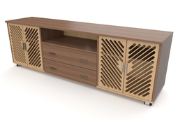 tv stand 37 3D model