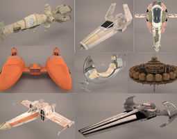 Star Wars Collection 4 3D model
