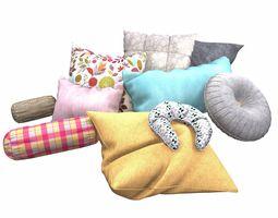 housewares 3D model Pillow Set