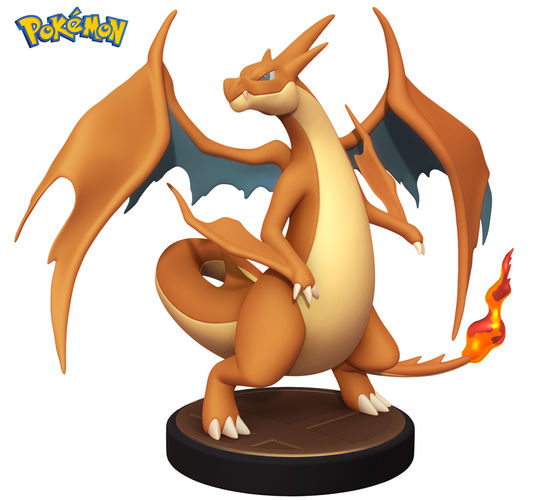 photo relating to Charizard Printable called Pokemon Charizard Y - 3D Printable Determine - Toy 3D Print Type
