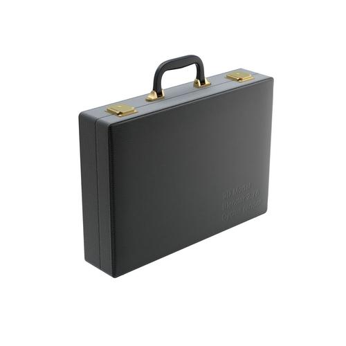 leather briefcase 3d model obj mtl fbx blend 1