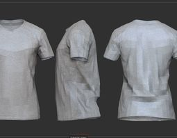 T Shirt 3D asset