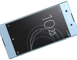 Sony Xperia XA1 Plus Blue 3D