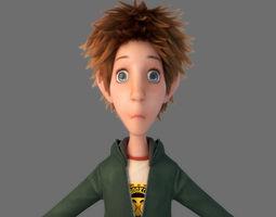 Cartoon Boy Norig 3D model
