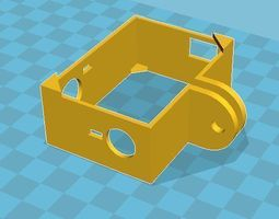 3d printable model gopro 3 3 frame