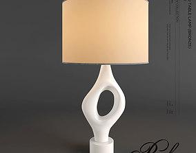 3D asset BAKERS ANNEAU TABLE LAMP PAGANI No PG102BR