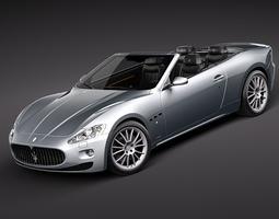 Maserati GranCabrio 3D Model