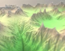 Mountain Hills 3D model