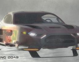 3D model Mustang 2049 concept design