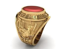 3D print model Ring USA 1