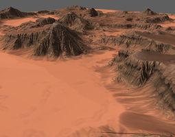 3D asset Desert