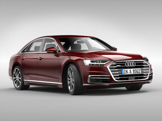 Audi A D Germany CGTrader - Audi a8 2018