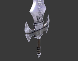 3D model Medieval Great Sword
