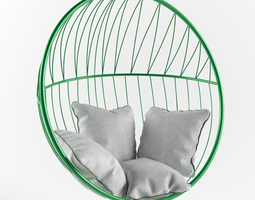 bubble hanging chair 3D model