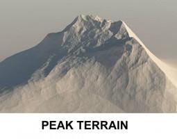 3d Terrain Peak
