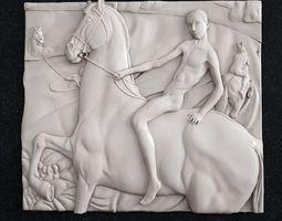 print 3D printable model Bathing a red horse