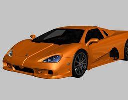 SSC Ultimate Aero 2010 3D asset
