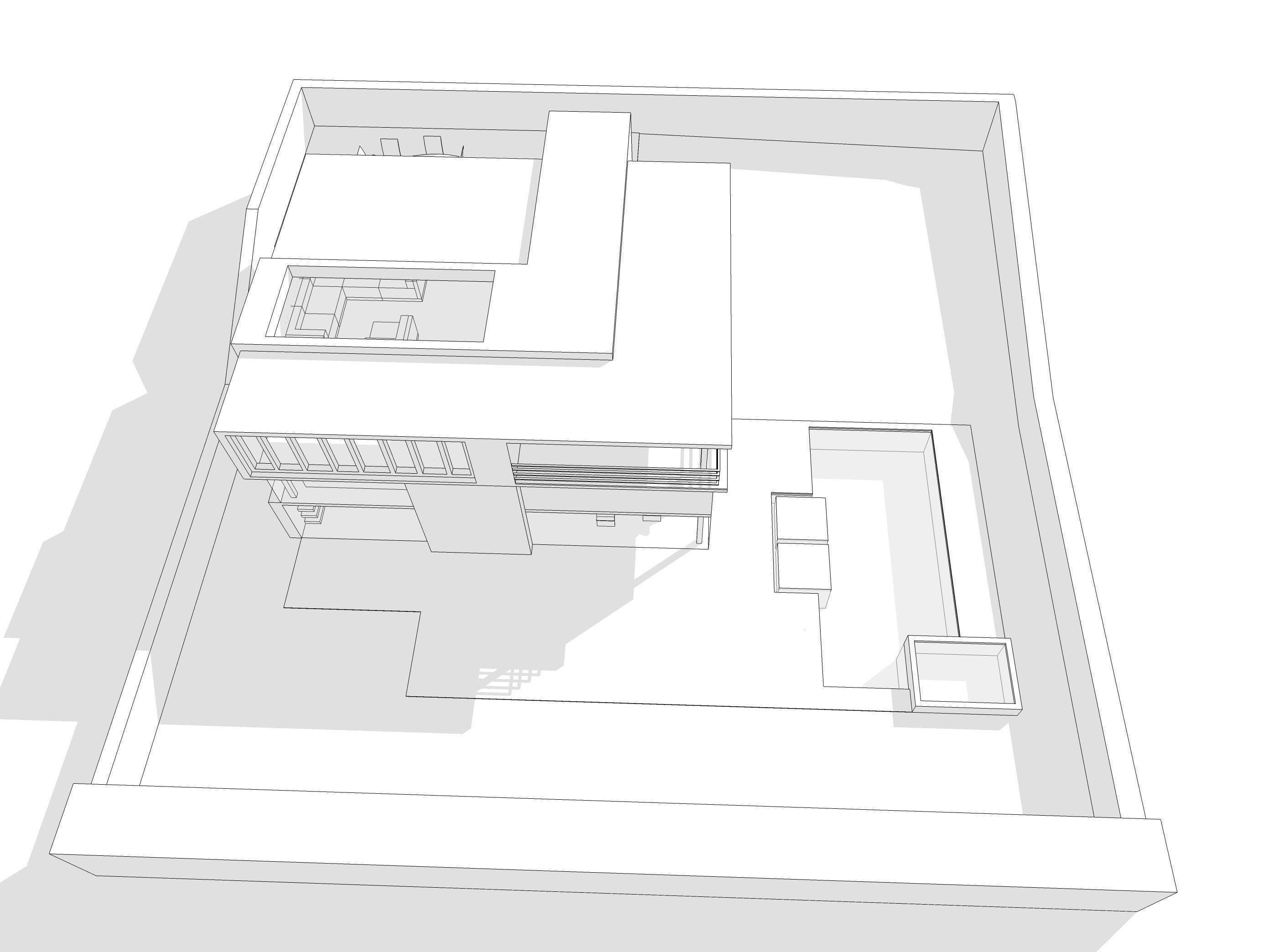 Modern House 3d Model 3ds Dae Dwg Skp 4