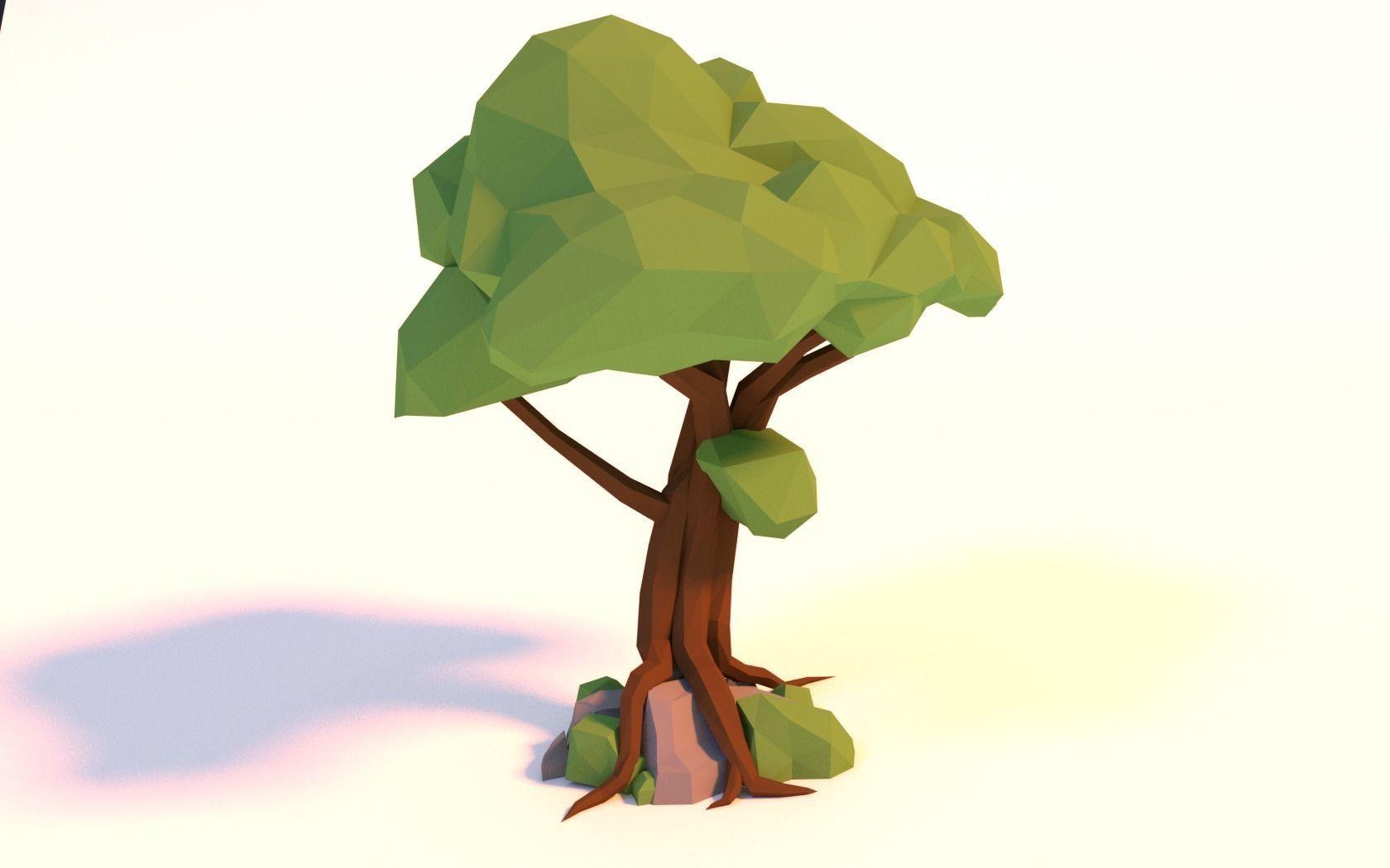 Low-poly Tree