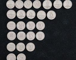 Coin Russian kopeck 3D print model