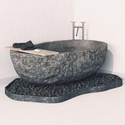 bath stone 3d model max obj mtl fbx 1
