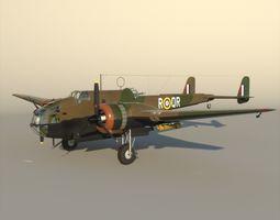 Handley Page Hampden England 1938 3D