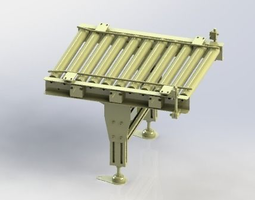 3D Roller assembly line
