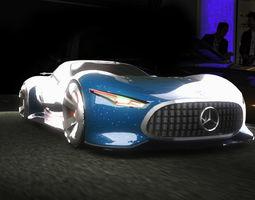 Mercedes-Benz AMG Vision Gran 3D model