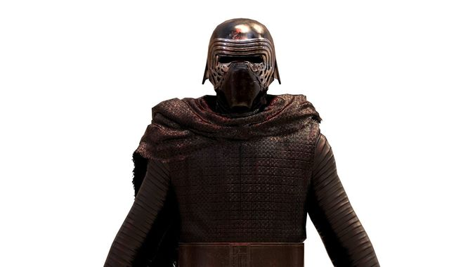 kylo ren 3d model low-poly obj 1
