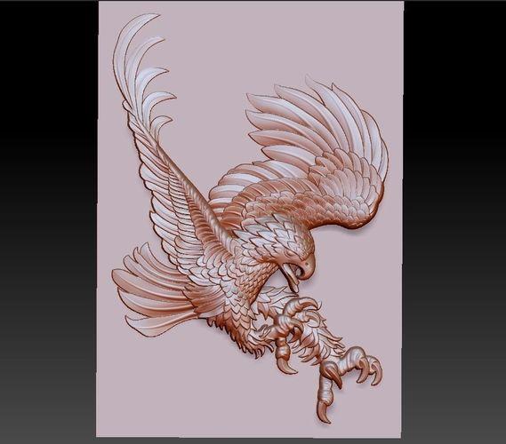 eagle 3d model stl 1