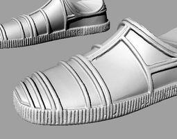 C-3PO Feet 3D scan 3D print model