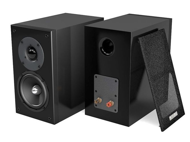 loudspeakers 3d model obj mtl 3ds fbx c4d 1