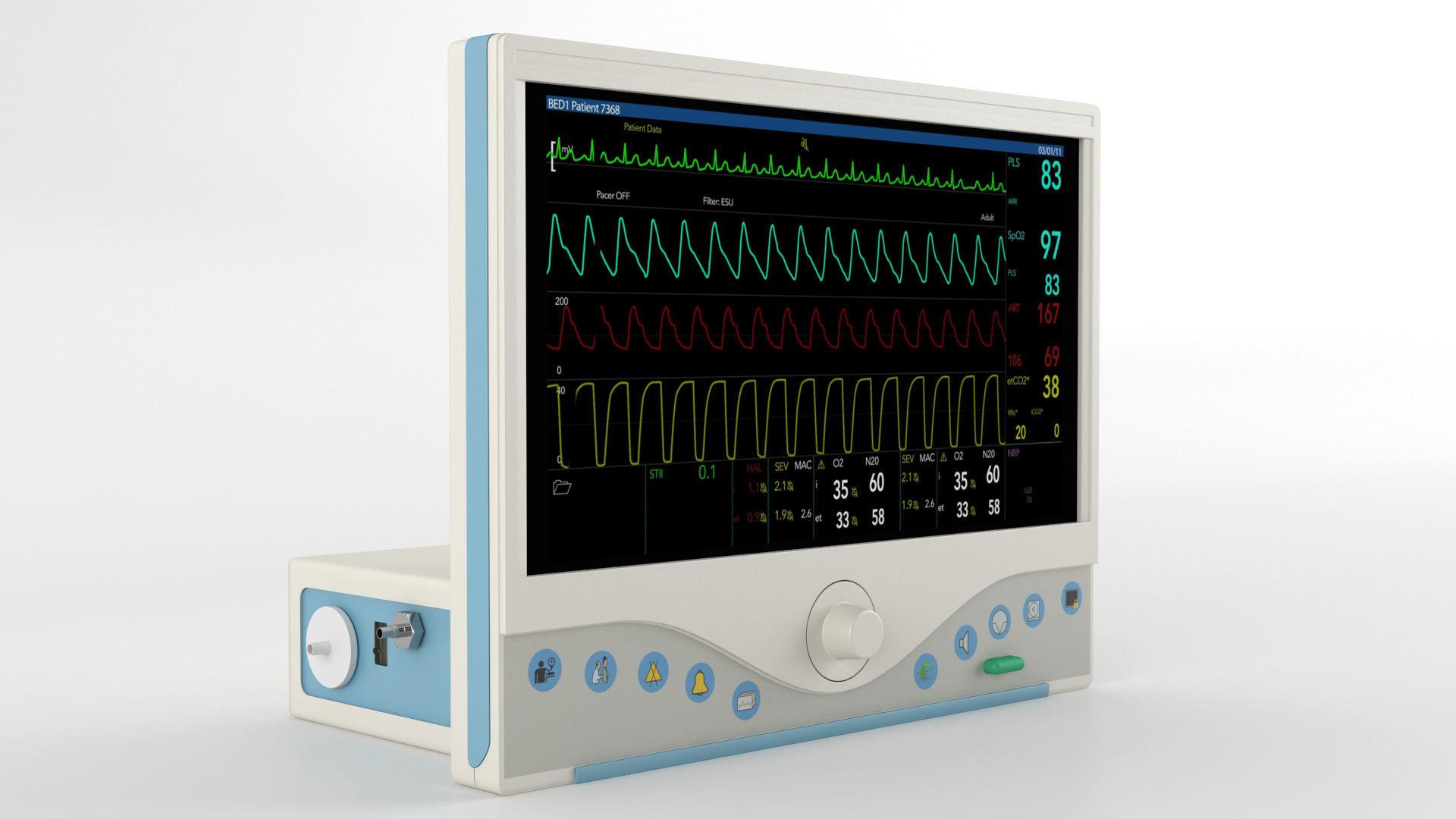 ECG Monitor GE Omni 719
