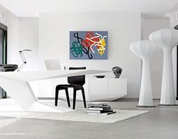 mathematical-art Future desk 3D print model