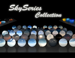 3D model Sky Series Collection - HDRi