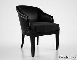3d model ralph lauren duchess dining chair