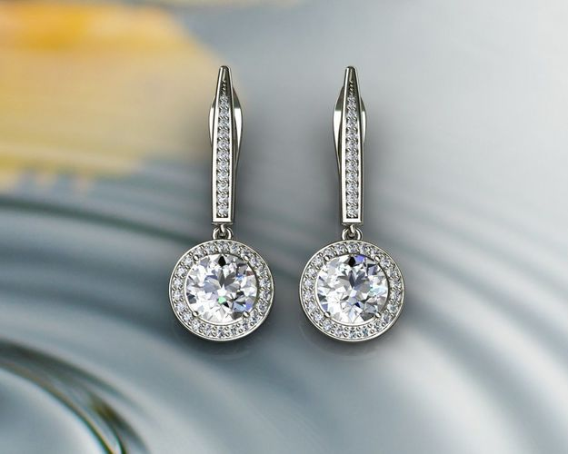 earring house earrings carat products of with grande diamond jackets huxley jewellery ct solitaire earings drop