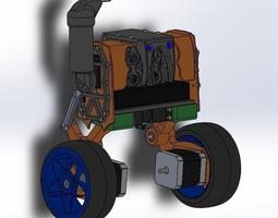 3D print model Self Balancing robot