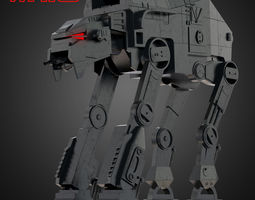 AT-M6 Star Wars All Terrain MegaCaliber Six 3D model