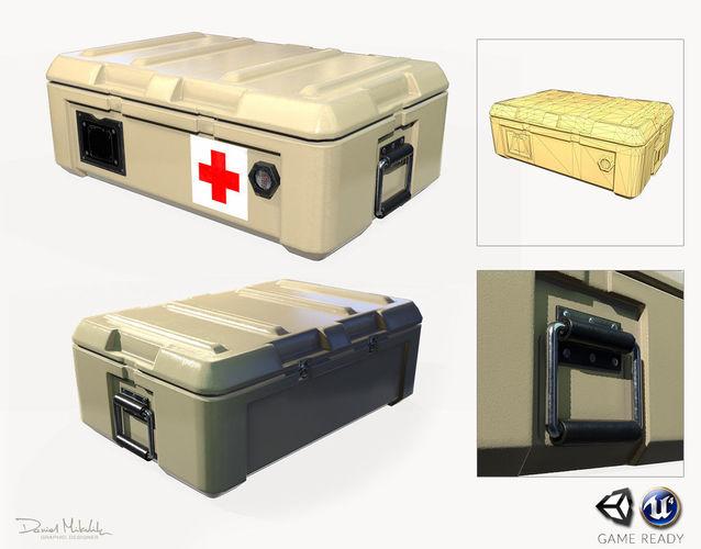 medic case pbr 3d model max obj mtl 3ds fbx 1