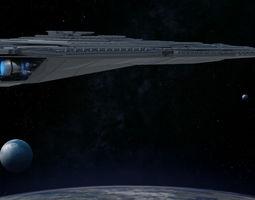 3D model Star Destroyer war